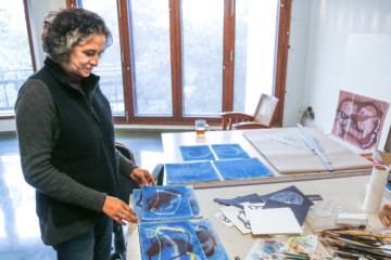 Manisha Parekh on How to Make an Artwork with Waste Paper