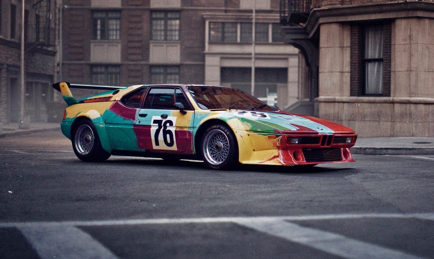 Andy Warhol. BMW Art Car. Courtsey of BMW AG.
