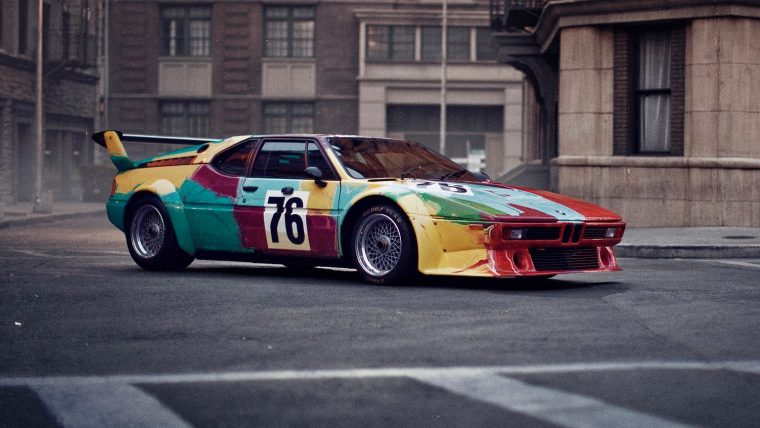 Andy Warhol. BMW Art Car. Courtsey of BMW AG.