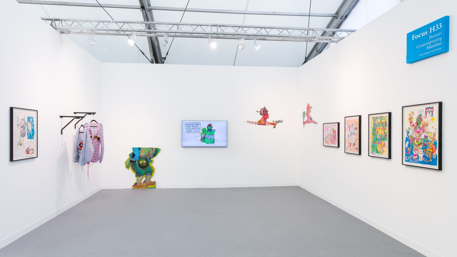 Hardeep Pandhal. Frieze London 2018. Courtesy of Mark Blower and Jhaveri Contemporary