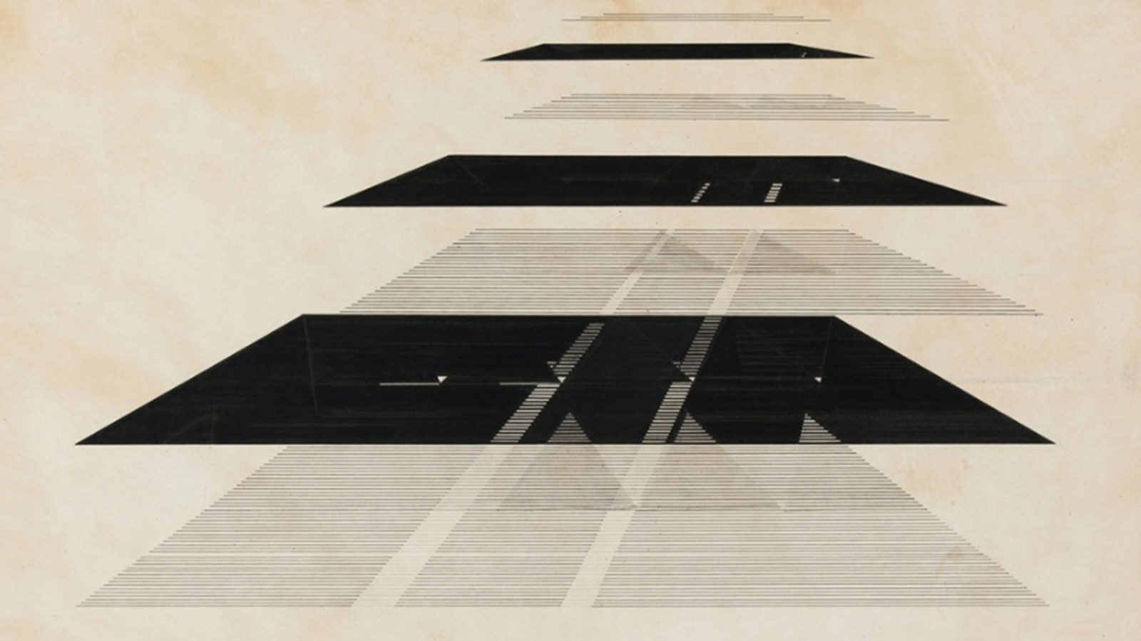 Nasreen Mohamedi. Untitled. Courtsey of Tate Liverpool