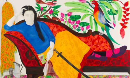 Rekha Rodwittiya. Untitled, 2018. Courtesy of Sakshi Gallery