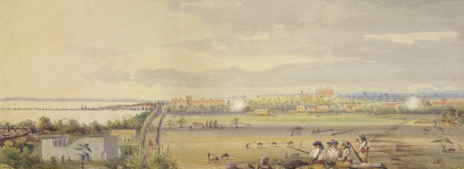 Panorama of Delhi, 1815. Courtesy of British Library