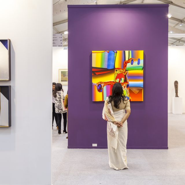India Art Fair 2019 © India Art Fair. Photo credit: Jeetin Sharma