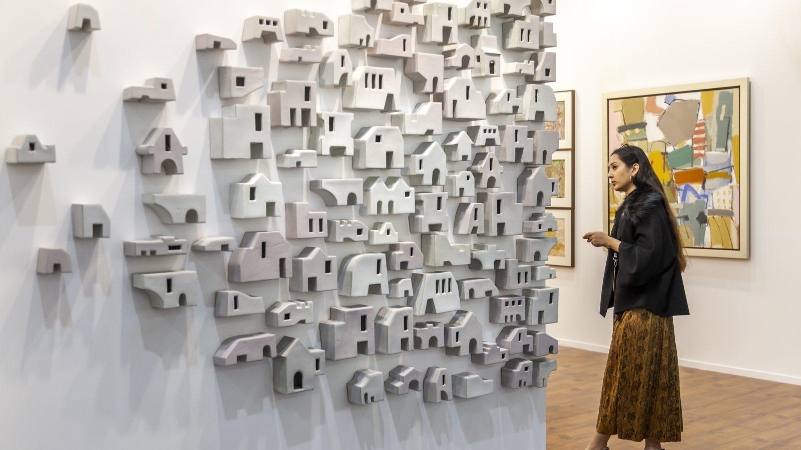 India Art Fair 11. Photo credit, Jeetin Sharma. Courtesy of India Art Fair