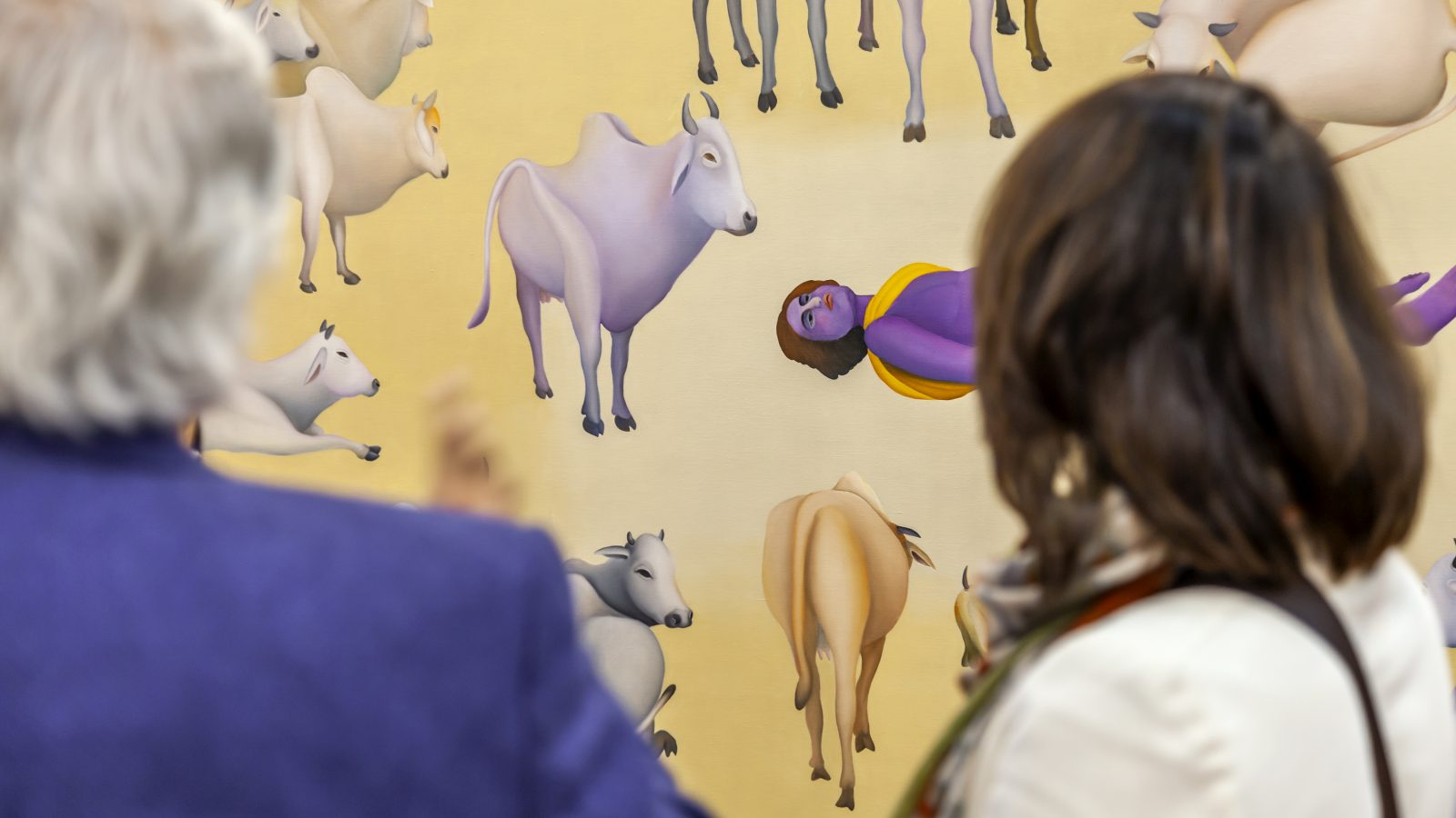 India Art Fair 14. Photo credit, Jeetin Sharma. Courtesy of India Art Fair