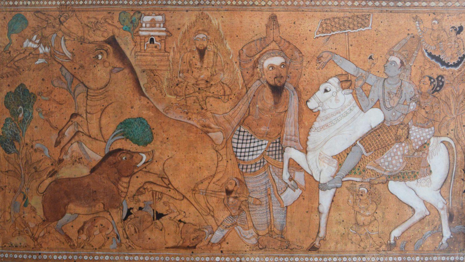 Giridhar Gowd. Kiratharjuneeyam, 2017. Courtesy of Kalakriti Art Gallery