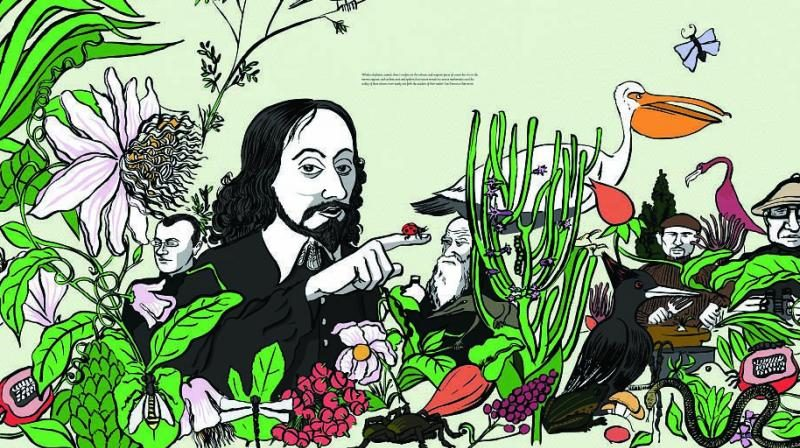 Sarnath Banerjee. An Encounter with Thomas Browne and Other Commonplace Utopia. Courtesy of Deutsche Bank, The artist, & Project88