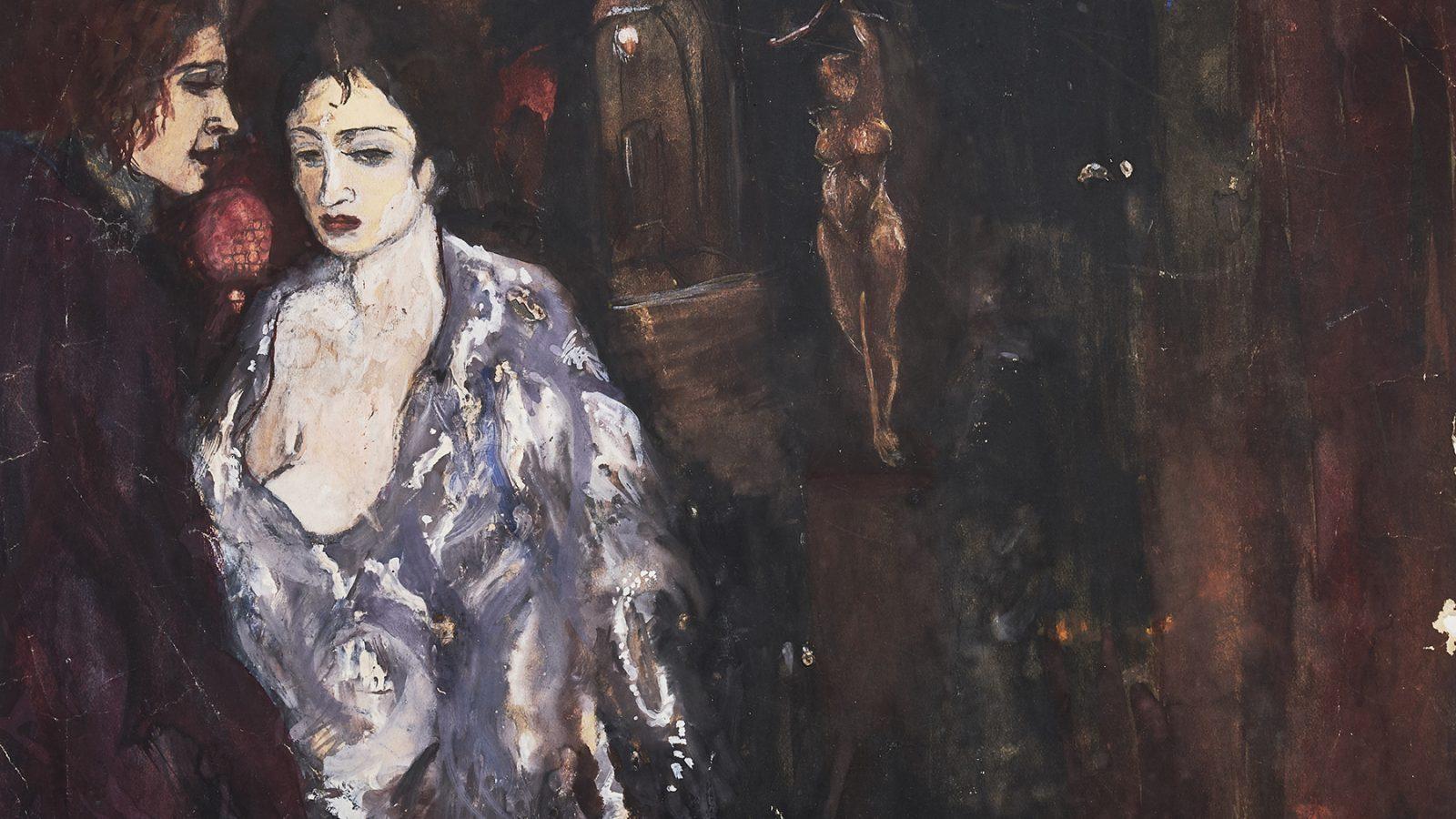 Amrita Sher-Gil, Untitled, 1928. Courtesy of Akara Art