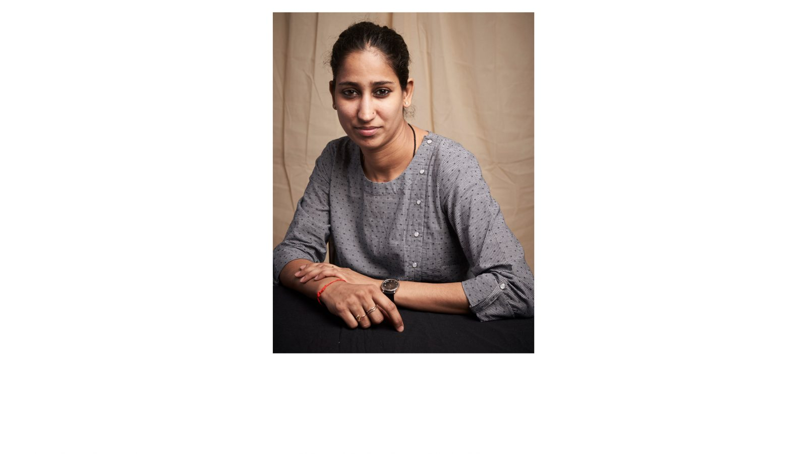 Soghra Khurasani. Profile, 2018. Courtesy of TARQ