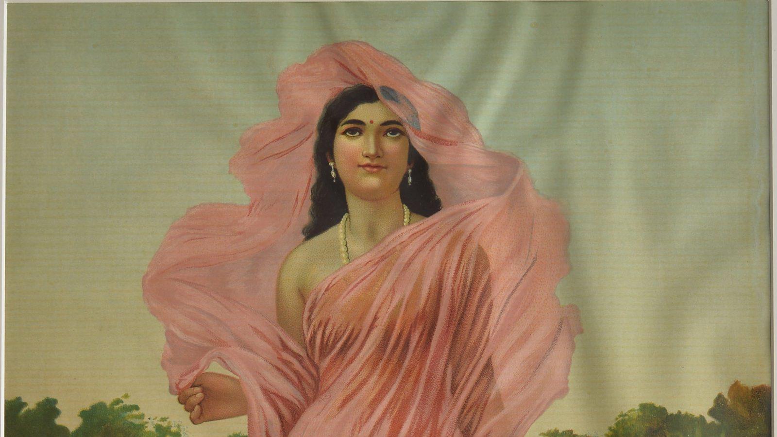 Raja Ravi Varma. Padmini, Courtesy of Kalakriti Art Galleryjpg