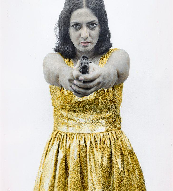 Pushpamala. Sunhere Sapne, 1998. Photograph. Courtesy of the artist