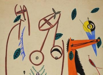 Opening Lines: The Artworks of Ebrahim Alkazi