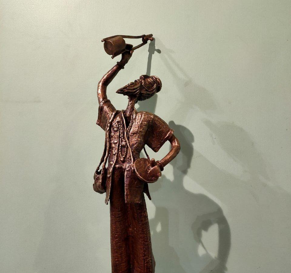 Tapas Sarkar. Baul. Courtesy of Chawla Art Gallery