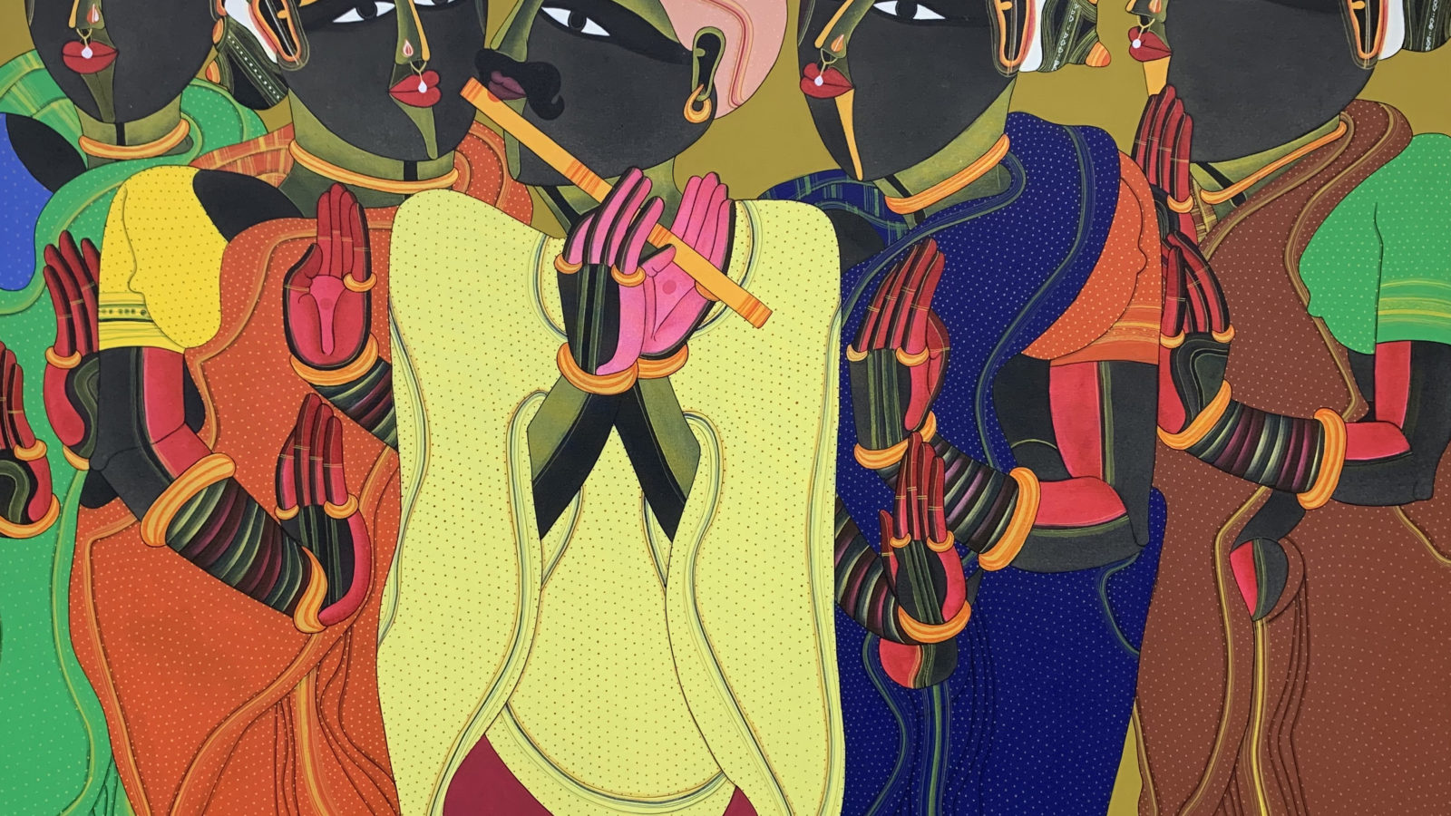 Thota Vaikuntam. Untitled2. Courtesy of Gallerie Nvya