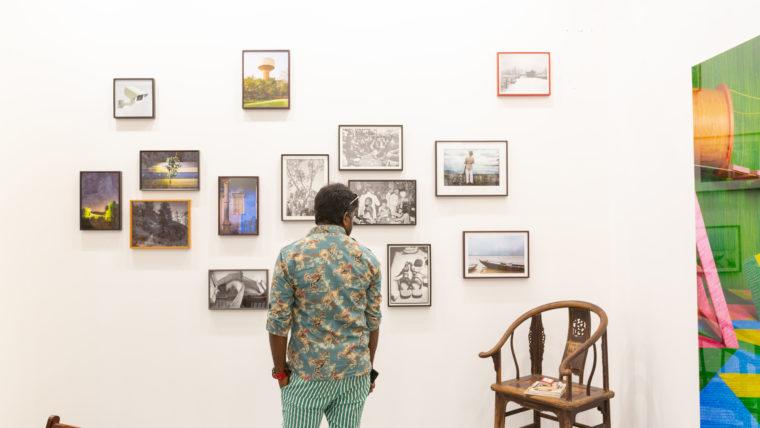 GALLERYSKE. Installation view, 2020. Courtesy of India Art Fair