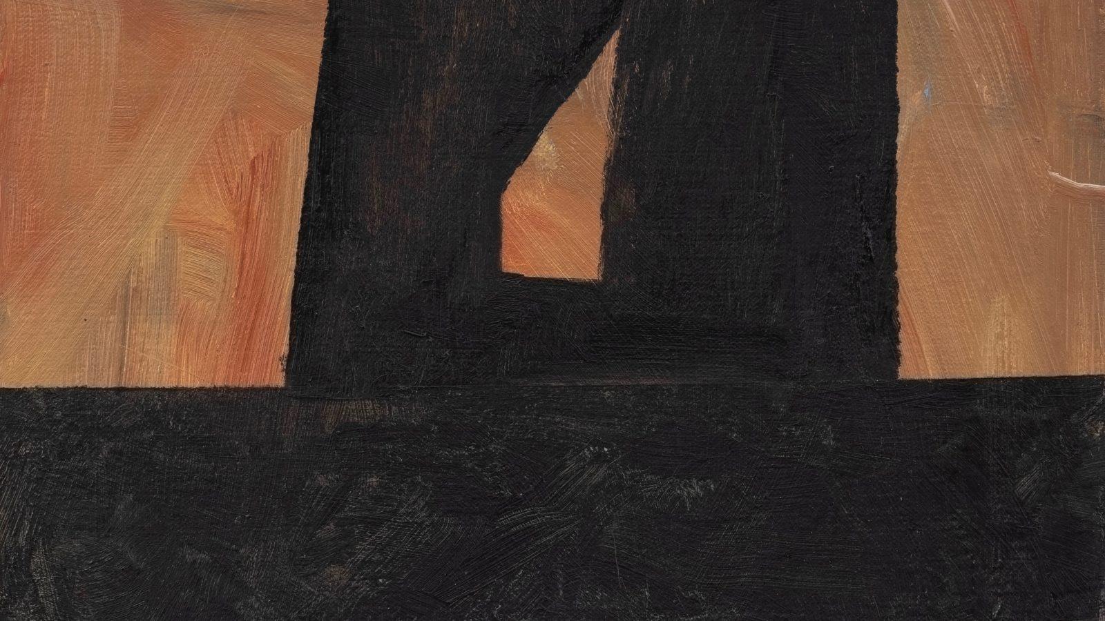 Biraaj Dodiya. Neighbor's Sunset, 2019. Oil on canvas. Courtesy of the artist and Experimenter